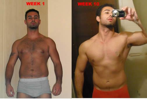 10 Week Muscle Transformation